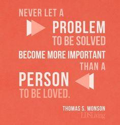 Love President Monson!