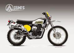 """Motosketches: ASPES """"HOPI"""" 450"""