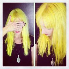 Gah, I miss having fun hair!!!