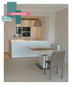 projet kitchenette   B_indoor   www.b-indoor.com/ #decoration #design #agencement #contemporain #art #mobilierdesign #amenagement #plans #cuisine #kitchen #plandetravail #credence #electromenager #parquet #carrelage #faience #grescerame