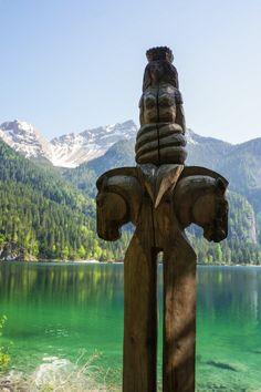 Mountain talisman in Northern Italy  #travel #italy #mountain #talisman #horse #fantasy #magic #mystical #lake #italia #beautiful #scenery