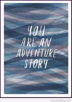 You are an adventure story... great starting point for a photo book. Don't you think?!