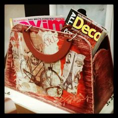 Ahsap gazetelik Paper Shopping Bag, Home Decor, Interior Design, Home Interior Design, Home Decoration, Decoration Home, Interior Decorating