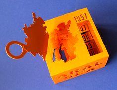 3D Paper Model of Shrinking Aral Sea