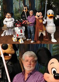 #Disney #Lucas