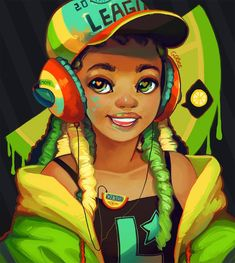 If anyone makes customs hats and can create this one, please can you hit me up with your price? :D Or if anyone knows something like this that kinda exists that also works! Also long time no . Black Love Art, Black Girl Art, Art Girl, Drawings Of Black Girls, Arte Black, Natural Hair Art, Black Girl Cartoon, By Any Means Necessary, Black Art Pictures