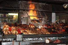Uruguayan grill, Tony Bourdain style