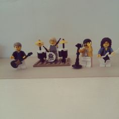 My Queen Lego Minifigs - the LOML loves the band and so do I :D