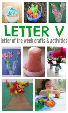Letter of the week activities for kids
