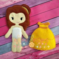 Felt Doll – Brittany & Outfit