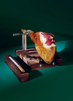 A cut above: the making of Handmade 2015's prosciutto carving set, by Piero Lissoni and Knindustrie | Design | Wallpaper* Magazine