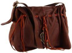Lucky Brand Brown  Leather Crossbody Handbag