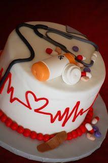 CakeFilley: Nursing School Graduation Cake