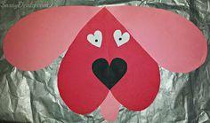 dog valentines day craft for kids