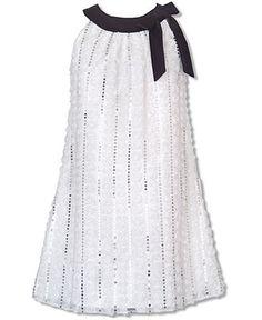 Rare Editions Kids Dress, Girls Uneck Dress - Kids Dresses - Macy's