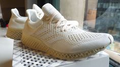 A closer look at Adidas Futurecraft 3D, a running shoe made with 3D-printed materials. Maybe something for 3D Printer Chat?