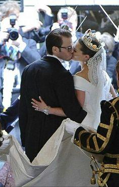 Crown princess Victoria and Prince Daniel