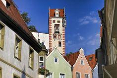 Castle tower in Füssen