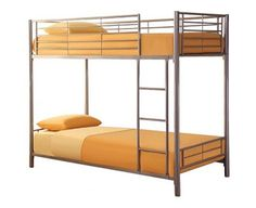 LPD Furniture Metal Bunk Bed This value-for-money metal bunk bed is a welcome solution for families where space is at a premium. Classic metal frame leaves a cool contemporary look. Features a built-in ladder.NB: This bed does no http://www.comparestoreprices.co.uk/bunk-beds/lpd-furniture-metal-bunk-bed.asp