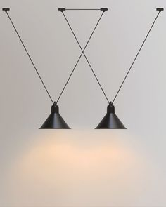 Acrobat lamps are a creative way of incorporating the geometric trend into your home.