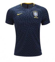 2018 World Cup Jersey Brazil Replica Black Training Shirt Cheap Football Shirts, Cheap Shirts, Football Stuff, World Cup Jerseys, Soccer World, Premier League, Brazil Team, Brazil World Cup, Sport