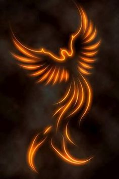 Image result for phoenix tattoo designs flames