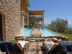 Bournella villa, Corfu ... amazing, secluded villa for 2 (needs a 4x4 to access!)