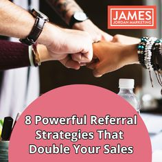 8 Powerful Referral Strategies That Will Double Your Sales Marketing Words, Viral Marketing, Marketing Program, Marketing Software, Marketing Consultant, Content Marketing, Social Media Marketing, Marketing Strategies, Marketing Ideas