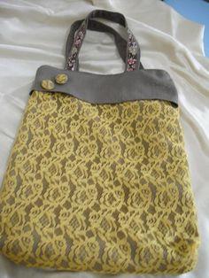 Bolsa Artesanal - lace handmade bag