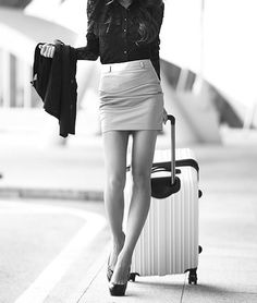 Wherever she's going...