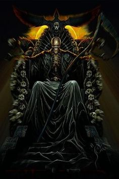 grim reaper skull pictures - Google Search