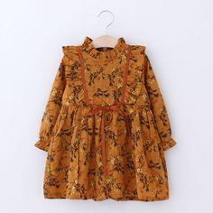 e406ca1da93540 Everweekend Kids Meisjes Koreaanse Mode Nieuwe Lente Print Bloemen Jurk  Prinses Rood Geel Kleur Boog Feestjurk in Everweekend Kids Meisjes  Koreaanse Mode ...