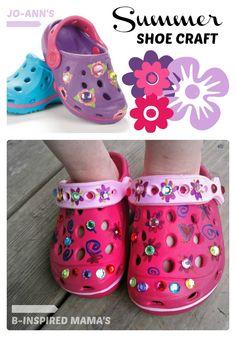 Kids Summer Show Craft - #SummerofJoAnn at B-InspiredMama.com