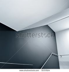 abstract composition of empty... on Shutterstock