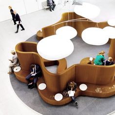 molo Seating Areas, Public Seating, Lounge Seating, Garden Seating, Office Seating, Paper Furniture, Small Furniture, Furniture Design, Office Furniture