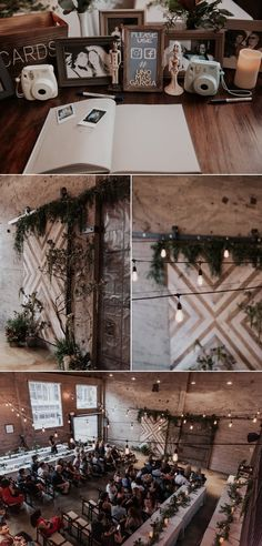 Modern Industrial Wedding at Luce Loft by Paige Nelson PhotographyBalboa Park Wedding by Paige Nelson Photography. Wild Orchid Florist. Tres Chic Affairs. San Diego Wedding Planner. Organic bouquet. green and white wedding. Luce Loft wedding.