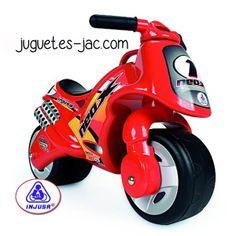 Moto roja de Injusa a partir de 2 años.