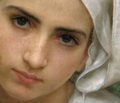 William-Adolphe Bouguereau, Breton Brother and Sister (Detail), 1871