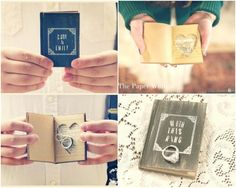 Ring holding book