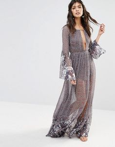 The Jetset Diaries | The Jetset Diaries La Cucaracha Printed Maxi Dress