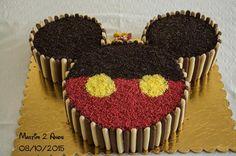 Bolo Festa Mickey Mouse do Martim