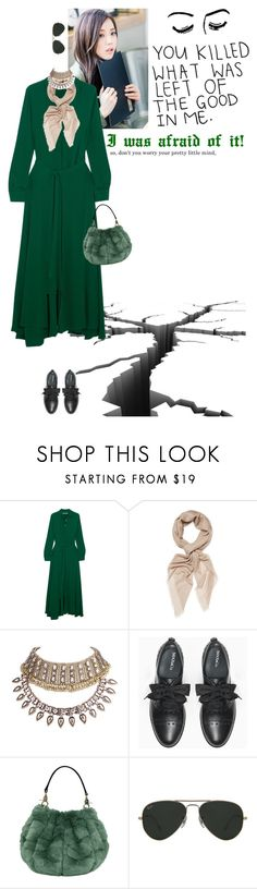 """""""I'm still shivering..RTD!!!"""" by www-som ❤ liked on Polyvore featuring Samsonite, Rosetta Getty, Chan Luu, WithChic, Max&Co., Ray-Ban, scared, polyvoreeditorial, badthings and earthquake"""