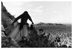 Angel woman, deserto di Sonora, Messico, 1979.