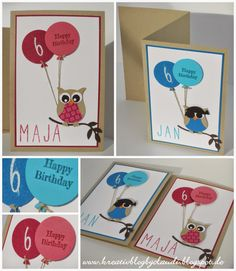 www.kreativblogbyclaudi.blogspot.de: Eulenstanze