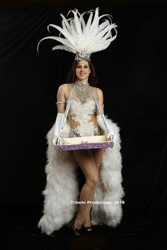 Las Vegas Showgirl As long as I didn't have to show any ta ta's I would love to do this!!!!!!