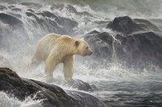 Robert Bateman - Paintings  Acrylic on board, 2005