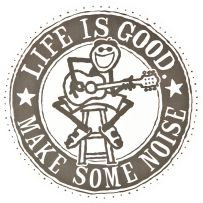 Make lots of noise, I do! Life is good! Kinds Of Music, Music Love, Live Music, Good Day Sunshine, Do What You Like, Sand Art, Love Signs, Uplifting Quotes, Make Me Happy