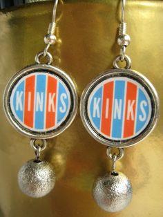 The Kinks Earrings by MidCityMod on Etsy