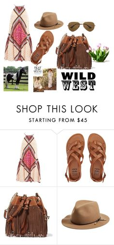 """""""country girl"""" by alessandra-loma on Polyvore featuring moda, MINKPINK, Billabong, Diane Von Furstenberg, rag & bone, Ray-Ban e country"""
