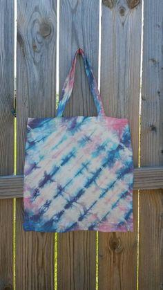 Tote Bag Tie Dye Bag Tie Dye Tote Bag Boho by MessyMommasTieDyes